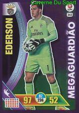 343 EDERSON BRAZIL BENFICA MEGAGUARDIAO CARTAO CARD ADRENALYN LIGA 2017 PANINI