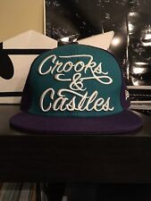 Crooks And Castles New Era Hat Purple 7 3/8
