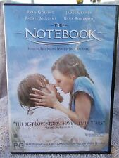 THE NOTEBOOK RYAN GOSLING RACHEL McADAMS PG R4 DVD