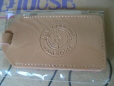 Dave Matthews Band  - From The Warehouse -  Leather Luggage Tag- New