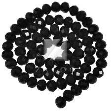 72pcs Crystal Rondelle Beads Loose Fit Necklace 10mm/12mm