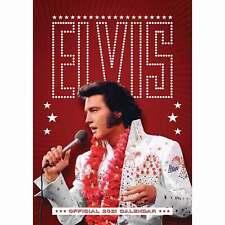 Elvis Presley Official A3 Calendar 2021
