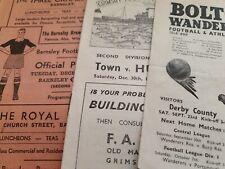 More details for 1950/51 football programmes (1)
