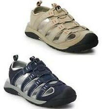 Croft & Barrow Combs Men's Fisherman Sandals Olive Or Taupe Size 13 Ortholite