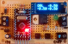 DIGITAL SINGLE / DUAL PULSE SPOT WELDER TIMER + DISPLAY. FOR SOLID STATE RELAY