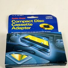 "Cassette Adapter with 1/8"" (3.5mm) Plug for Mp3 or Cd Player,RadioShack 12-1951A"