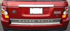 Range rover sport 2.7 3.6 4.2 4.4 2005-11 chrome coffre arrière cover boot trim
