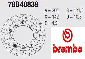 Coppia Dischi Freno BREMBO Serie Oro  Suzuki Burgman 650 2013-