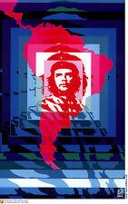 Political cuban POSTER.CHE GUEVARA Latin America art.12.Revolution Art Design