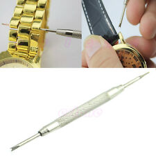 2pcs Stainless Steel Jewelry Watch Band Spring Bar Link Pin Removal Tool Repair
