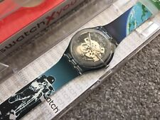 SWATCH X YOU NEW GENT SPECIAL WATCH MOON LANDING 50TH ANNIVERSARY LIMITED 256 #2