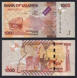 Uganda 1000 shillings 2010 FDS/UNC  C-07
