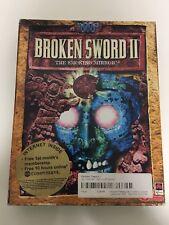 Broken Sword 2 The Smoking Mirror Pc Cd Rom Big Box
