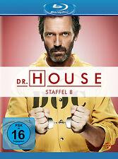 5 Blu-rays * DR. HOUSE - STAFFEL / SEASON 8 | HUGH LAURIE # NEU OVP +