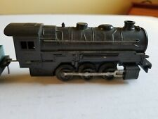 VINTAGE BATTERY OPERATED FIVE PIECE STEAM TRAIN SET w/TRACK NOT TESTED