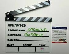 "Joe Dante Signed Hollywood Movie Clapper Director ""Gremlins"" PSA AF57246"