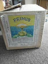 Vintage Primus No.5 Brass camping stove,  BOXED, BARN FIND