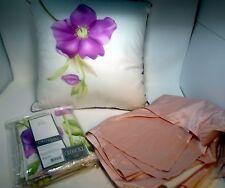 Lot Queen Comforter Bedspread Decor Pillow 2 Shams Bedskirt Luxehabitat Pink Set