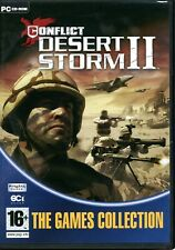 Conflict DESERT STORM II - Brand New in DVD-Box - PC Shooter