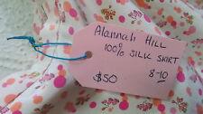 Alannah Hill Berries SKIRT Size 10 - 100% Silk