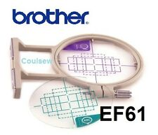 BROTHER Embroidery Hoop EF61 SMALL 61 PE 400D INNOV-IS 500 900 950 955 90e 97e