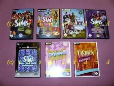 7x Sims_Sims 2 & Das volle Leben & Tiergeschichten & Fashion Factory & Nightlife