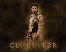 "Russell Crowe - Gladiator Movie Poster 8""x10"""