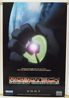 ROBOTECH:  THE SHADOW CHRONICLES ROLLED ADV ORIG 1SH MOVIE POSTER (2007)