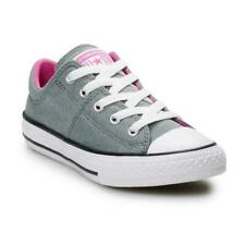 NEW GIRLS JUNIORS CONVERSE ALL STAR CHUCK TAYLOR MADISON SHOES - 13 USA