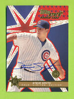 Autographed 2001 Topps Stars Rookie Card - Steve Smyth (#188)  Chicago Cubs