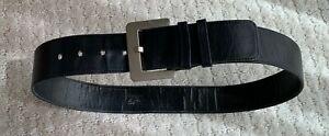Givenchy Life Black Leather Belt