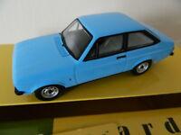 Vanguards Corgi VA12600 Ford Escort MK11 1.1 Popular Olympic Blue