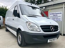 1 Owner 2012 Mercedes-Benz Sprinter 313 CDI LWB Panel Van with All Extras