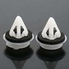 50X Nylon Clip Fastener Sealer Door Trim Panel Retainer Moulding Skirt For Mazda