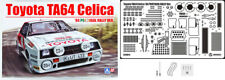 Toyota TA64 Celica 1984 Portugal Rally + Detail Up Parts 1:24 Model Kit Beemax