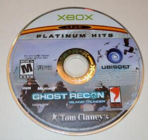 DISC ONLY- TOM CLANCY'S GHOST RECON: ISLAND THUNDER PLATINUM HITS ORIGINAL XBOX