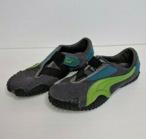 Puma Mostro Women's Sneaker Shoes Dark Grey Green Sz US 8.5