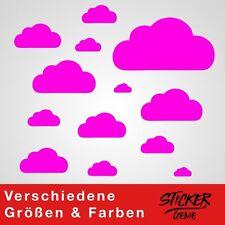 13 WOLKEN SET Wolke Wandtattoo Wandaufkleber Sticker Aufkleber Wand Himmel