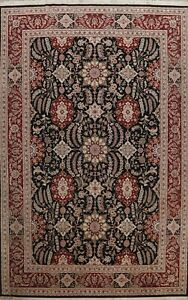 Floral Traditional Chinese Oriental Area Rug Wool Handmade All-Over Carpet 10x14