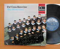 SFL 14103 The Vienna Boys Choir Sings Johann Strauss 1962 Fontana Stereo NM