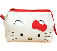 Hello Kitty Lady Women Makeup Case Pouch Cosmetic Bag Purse Wallet SPECIAL OFFER