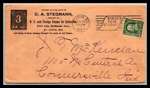 GP GOLDPATH: US COVER 1903, SAINT LOUIS, MO. _CV683_P19