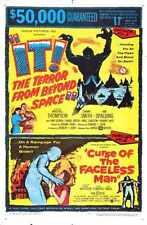 Il combo de terreur au-delà de l'Espace Poster 01 métal signe A4 12x8 aluminium