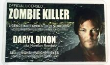 Daryl Dixon - Zombie Killer License Novelty - The Walking Dead