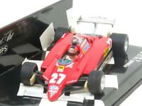 Minichamps F1 430 820027 Ferrari 126 C2 1982 G Villeneuve 1996 1 43 Scale Boxed
