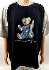 RARE Ralph Lauren 1980's POLO Teddy BEAR T-Shirt Men's Size XXL Super Big