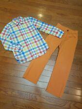 Mini Boden 6-7 Boys Shirt Gap Kids 6 Pants Outfit