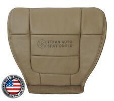 2001, 2002 Ford F150 Lariat Extended Cab -Passenger Seat Bottom Vinyl Cover Tan