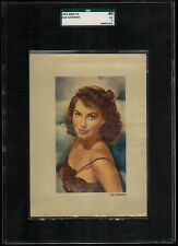 SGC 3  AVA GARDNER 1953 Kwatta Chocolates Film Stars Card EXTRA LARGE CARD