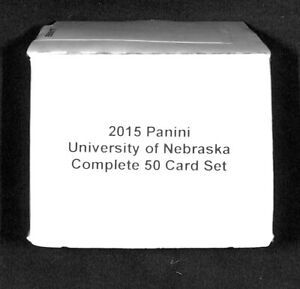2015 Panini_University of Nebraska Cornhuskers_Complete 50 Card Set_Roger Craig